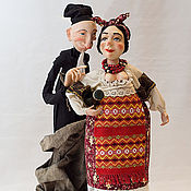 Куклы и игрушки ручной работы. Ярмарка Мастеров - ручная работа По мотивам Н.Гоголя.. Handmade.