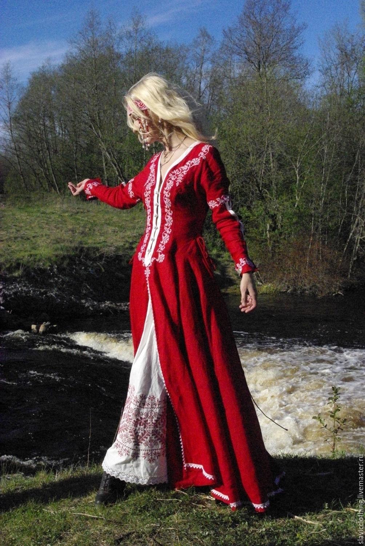 омске, древнеславянская одежда фото женская почему название