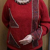 Одежда handmade. Livemaster - original item Sweater knitted Womens. Handmade.