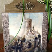 """Для дома и интерьера ручной работы. Ярмарка Мастеров - ручная работа Ключница """"Волшебный замок"""". Handmade."""