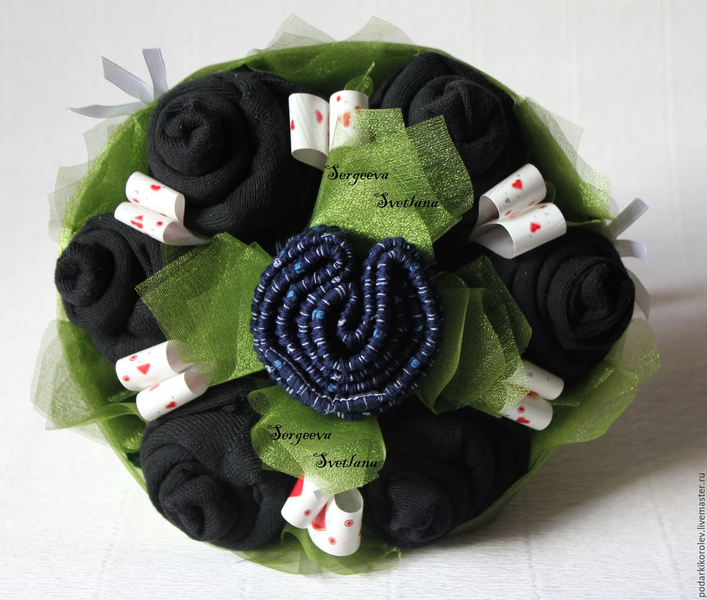 Подарок из мужских носков своими руками мастер класс 35