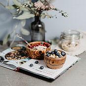 handmade. Livemaster - original item Wooden bowl Set of 2 PCs (10 cm and 12,5#39. Handmade.