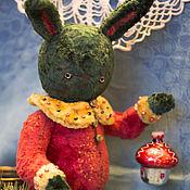 Куклы и игрушки ручной работы. Ярмарка Мастеров - ручная работа Леонтий. Тедди Заяц. Handmade.