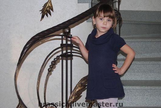 платье, платье вязаное, платье детское, платье для девочки, платье вязаное для девочки, платье вязаное купить, кашемировое платье