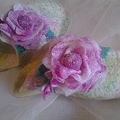 Обувь ручной работы handmade. Livemaster - original item Slippers girl