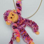 Куклы и игрушки ручной работы. Ярмарка Мастеров - ручная работа обезьяна. Handmade.