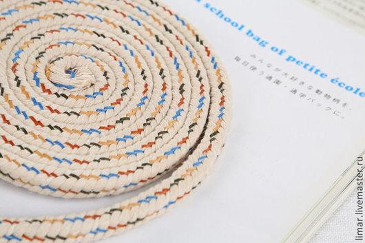 """Шитье ручной работы. Ярмарка Мастеров - ручная работа. Купить Шнур """"Меланж"""" 10 мм. Handmade. Шитье, шнур, фурнитура"""
