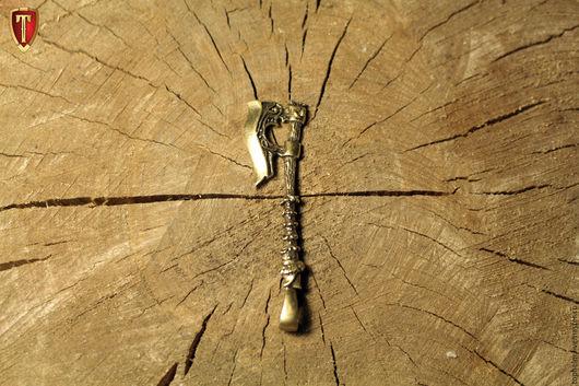 Кулоны, подвески ручной работы. Ярмарка Мастеров - ручная работа. Купить Кулон «Топор Войны». Handmade. Кулон из латуни, секира