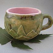 """Посуда ручной работы. Ярмарка Мастеров - ручная работа Чашка """"Лотос"""". Handmade."""