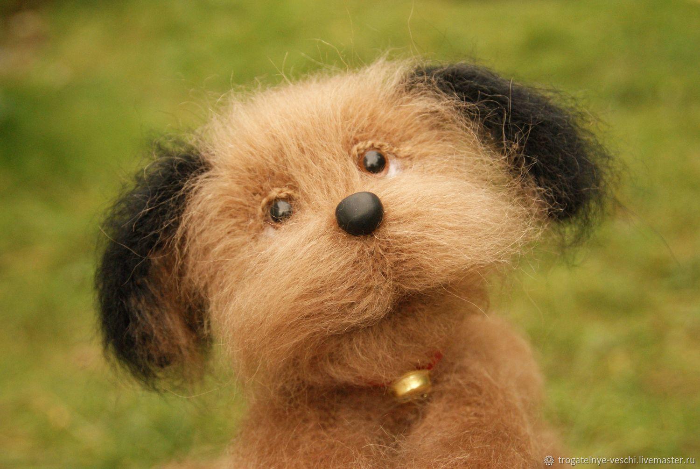 Toy Teddy dog Smile, Stuffed Toys, Smolensk,  Фото №1