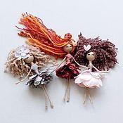 Куклы и игрушки handmade. Livemaster - original item Dolls and dolls: Hawaiian flower handmade Doll Play Interior. Handmade.
