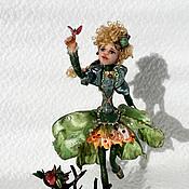 Куклы и игрушки ручной работы. Ярмарка Мастеров - ручная работа Фея Фрэя (цветочная). Handmade.