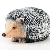 Материалы для творчества handmade. Livemaster - original item silicone molds for soap Hedgehog. Handmade.