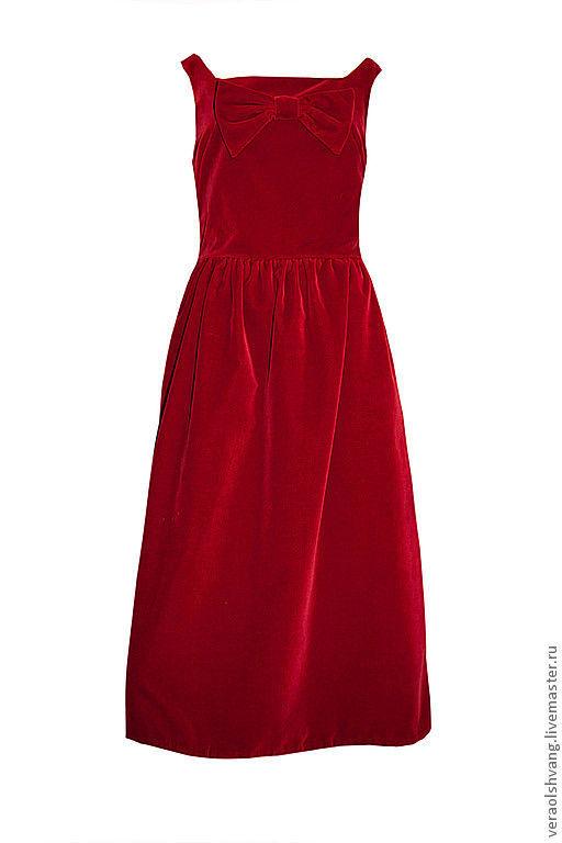 Платья ручной работы. Ярмарка Мастеров - ручная работа. Купить Бархатное платье на все случаи праздников. Handmade. Бархатное платье