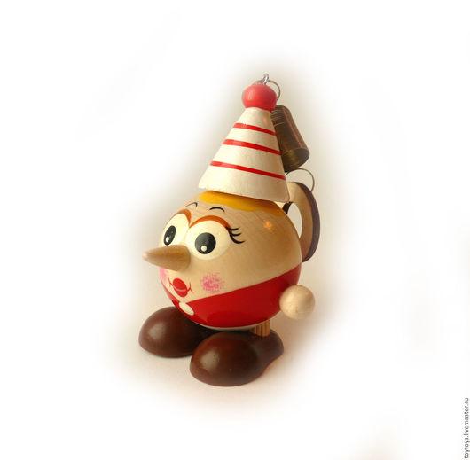 """Человечки ручной работы. Ярмарка Мастеров - ручная работа. Купить Игрушка """"Буратино"""" мал на пружинке. Handmade. Игрушка для детей, игрушки"""