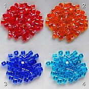Материалы для творчества handmade. Livemaster - original item Crystal beads square. Handmade.