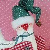 Куклы и игрушки ручной работы. Ярмарка Мастеров - ручная работа СНЕЖНАЯ новогодняя птичка-невеличка. Handmade.