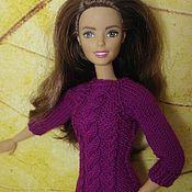 Куклы и игрушки ручной работы. Ярмарка Мастеров - ручная работа Одежда для Барби, свитер для Барби 6. Handmade.