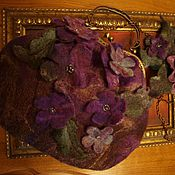 Сумки и аксессуары handmade. Livemaster - original item A purse and brooch. Handmade.