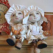 Куклы и игрушки ручной работы. Ярмарка Мастеров - ручная работа хранители кулинарных секретов...и ароматов домашних пирогов. Handmade.