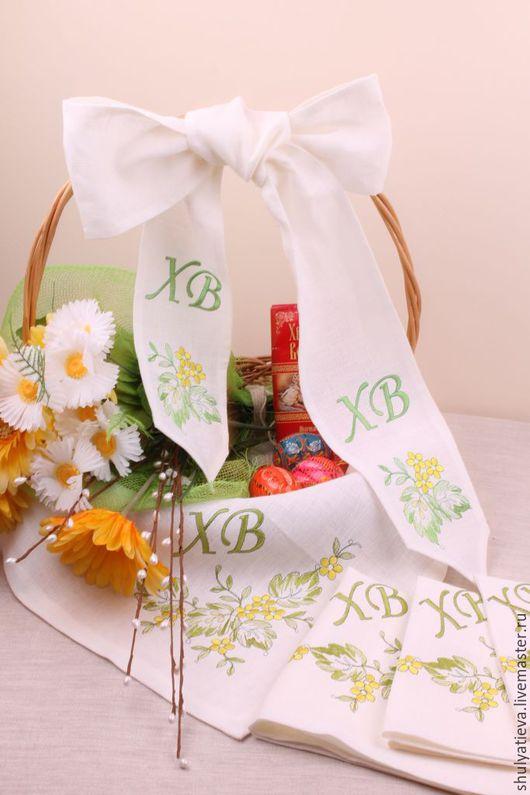 """Подарки на Пасху ручной работы. Ярмарка Мастеров - ручная работа. Купить Лента для пасхальной корзины """"Пасхальная весна"""". Handmade."""