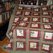 Для дома и интерьера ручной работы. Ярмарка Мастеров - ручная работа Одеяло покрывало Японский квадрат. Handmade.