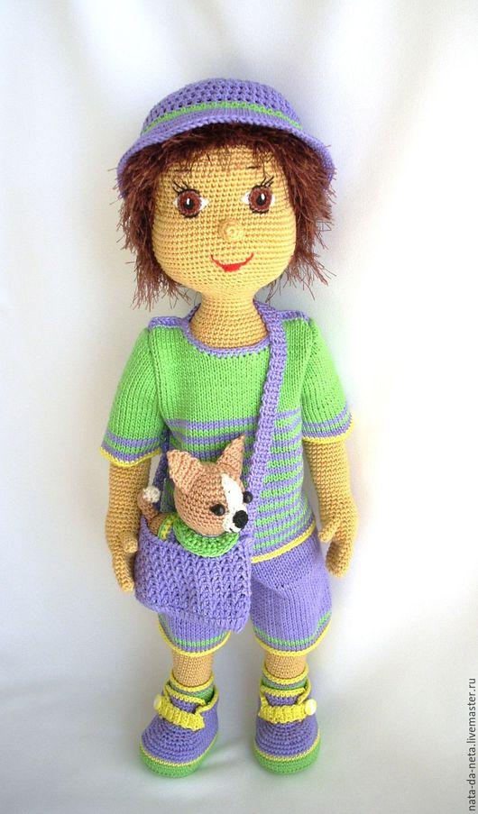 Человечки ручной работы. Ярмарка Мастеров - ручная работа. Купить Маленький сорванец.Вязаная кукла- мальчик.Кукла игровая,интерьерная. Handmade.