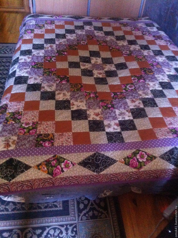 Floral fantasy, purple dreams, Blankets, Omsk,  Фото №1