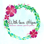 With Love. Mom - Ярмарка Мастеров - ручная работа, handmade