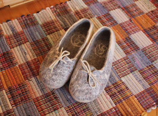 Обувь ручной работы. Ярмарка Мастеров - ручная работа. Купить Тапки-кеды валяные. Handmade. Комбинированный, тапки из шерсти, шерсть