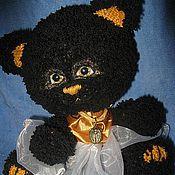 Куклы и игрушки ручной работы. Ярмарка Мастеров - ручная работа кошка Полночь. Handmade.