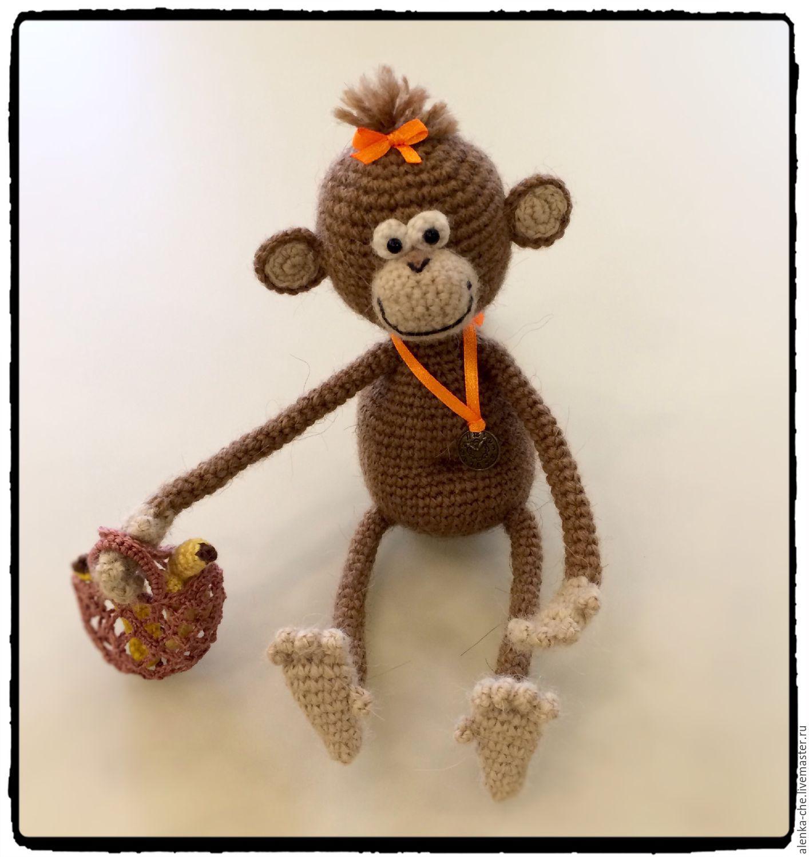 М к вязать обезьянку