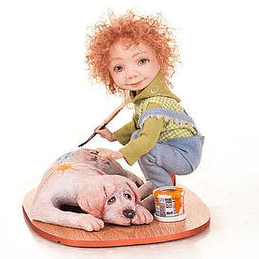 Куклы и игрушки ручной работы. Ярмарка Мастеров - ручная работа Муки творчества. Handmade.