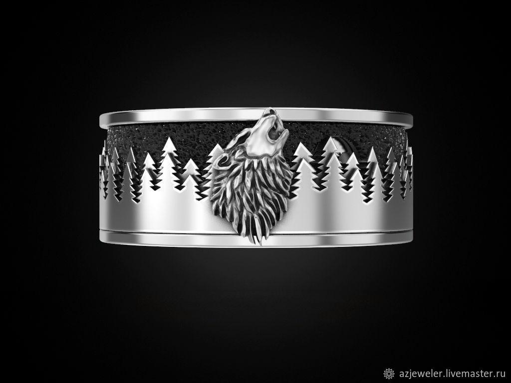Кольцо песня волка (артикул 318), Кольца, Москва,  Фото №1