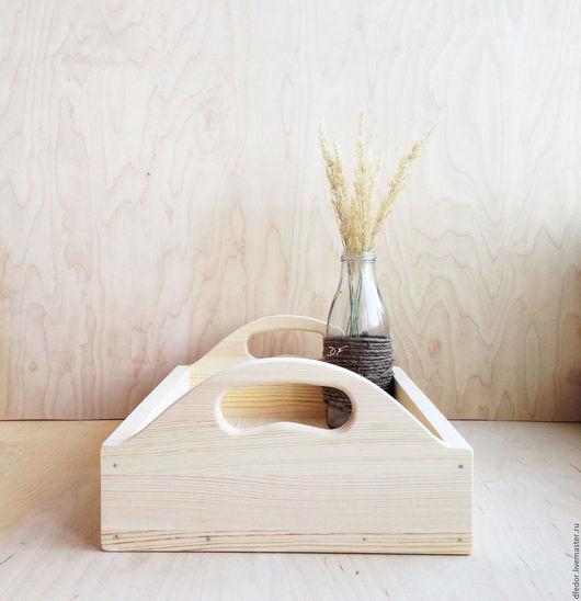 Кухня ручной работы. Ярмарка Мастеров - ручная работа. Купить Деревянный поднос. Handmade. Поднос, поднос заготовка, поднос для кофе
