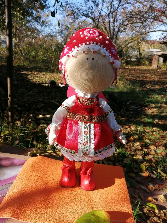 Кукла интерьерная, Народная кукла, Ставрополь,  Фото №1