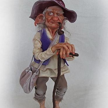 Куклы и игрушки ручной работы. Ярмарка Мастеров - ручная работа Старый эльф. Handmade.
