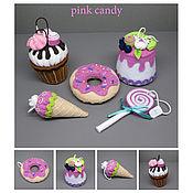 Для дома и интерьера ручной работы. Ярмарка Мастеров - ручная работа Pink candy. Handmade.