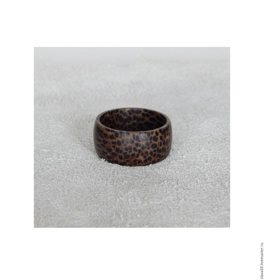 Кольца ручной работы. Ярмарка Мастеров - ручная работа. Купить Колечко из черной пальмы.. Handmade. Кольцо, колечко из дерева
