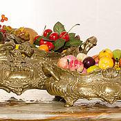 Винтаж ручной работы. Ярмарка Мастеров - ручная работа Жардиньерки пара Людовик антиквариат вазы центр стола украшение любого. Handmade.