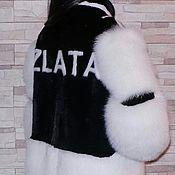 """Одежда ручной работы. Ярмарка Мастеров - ручная работа Шуба норковая """"ZLATA"""". Handmade."""