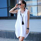 Одежда ручной работы. Ярмарка Мастеров - ручная работа Платье White Sphere. Handmade.
