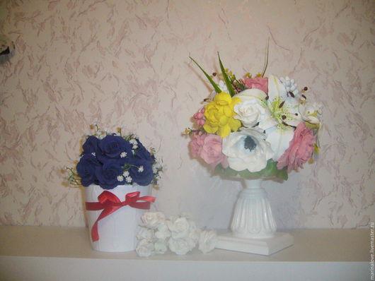 Цветы ручной работы. Ярмарка Мастеров - ручная работа. Купить Цветы из полимерной глины. Handmade. Комбинированный, полимерная глина