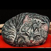 Сувениры и подарки ручной работы. Ярмарка Мастеров - ручная работа Спящий мурлыка. Handmade.