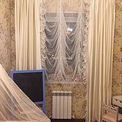 Для дома и интерьера ручной работы. Ярмарка Мастеров - ручная работа Воздушный тюль в комнату маленькой девочки. Handmade.