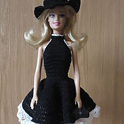 Куклы и игрушки ручной работы. Ярмарка Мастеров - ручная работа Маленькое черное платье. Handmade.