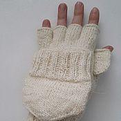 Аксессуары handmade. Livemaster - original item Transformers mittens with a cap on the thumb. Handmade.