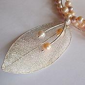 Свадебный салон handmade. Livemaster - original item Necklace, bracelet and earring set of jewelry copyright. Handmade.