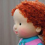 Куклы и игрушки ручной работы. Ярмарка Мастеров - ручная работа Пироженка, 37 см. Handmade.