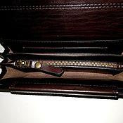 Сумки и аксессуары handmade. Livemaster - original item Purse-clutch No. 3 t-brown. large purse. A good purse. Handmade.